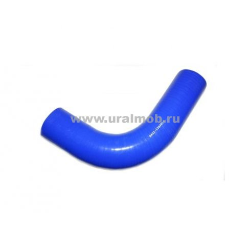 Фото: Патрубок МАЗ интеркулера (L80, d=70) (Синий Силикон), арт. 437143-1323094-001