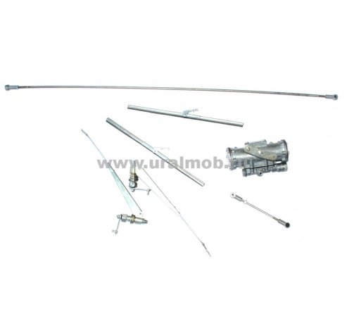 Фото: Стремянка крепления выпускной трубы к глушителю (ЯМЗ 236М2, 238М2)