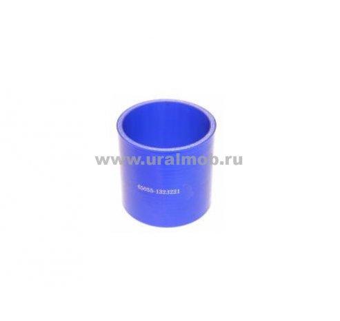 Фото: Патрубок КАМАЗ радиатора нижний (L130/150, d60/70) (Синий Силикон), арт. 65115-1303026-10
