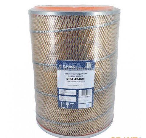 Фото: Эл. фильт. очистки воздуха СуперМАЗ (дв. 238, 240) с дном (Сетка) (ДИФА)