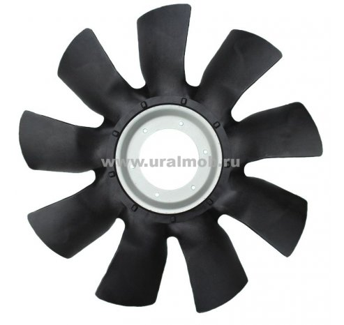 Фото: 536-1308012 Крыльчатка вентилятора под вискомуфту 650мм пластиковая ЯМЗ-534, 536