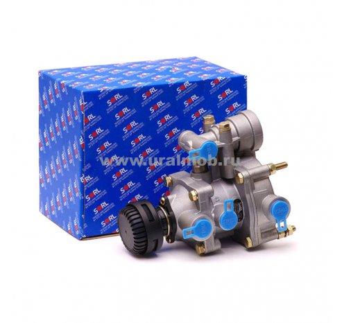 Фото: 3522 002 038 0 Клапан управления тормозами прицепа с 2х-провод. приводом с клапаном обрыва (ан 25-3522210-10) SORL