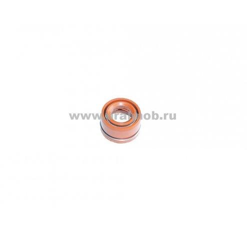 Фото: 236-1007262 кр. Манжета впускного клапана ЯМЗ 11,5*21 (Колпачок маслоотражательный) МБС красн.