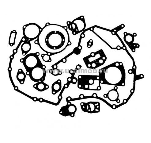 Фото: 7406Р-1000000 Р/к двигателя КАМАЗ ЕВРО-2 (25 поз.) паронит КАМРТИ