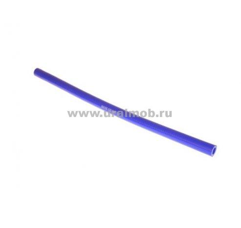 Фото: 54115-1311067-01 Патрубок КАМАЗ расширительного бачка (L440, d12) (Синий Силикон)