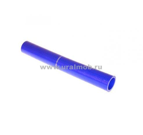 Фото: 5350-1015416-01 Патрубок КАМАЗ установки ПЖД-30 (L290, d32) (Синий Силикон) _