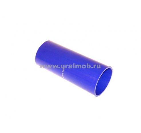 Фото: 64301-1323092-001 Патрубок МАЗ интеркулера (L230, d90) (Синий Силикон)