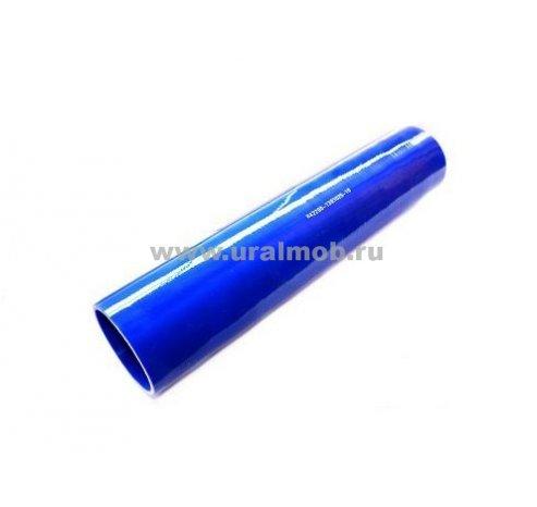 Фото: 642290-1303025-10 Патрубок МАЗ радиатора нижний (L375, d70) (Синий Силикон) _