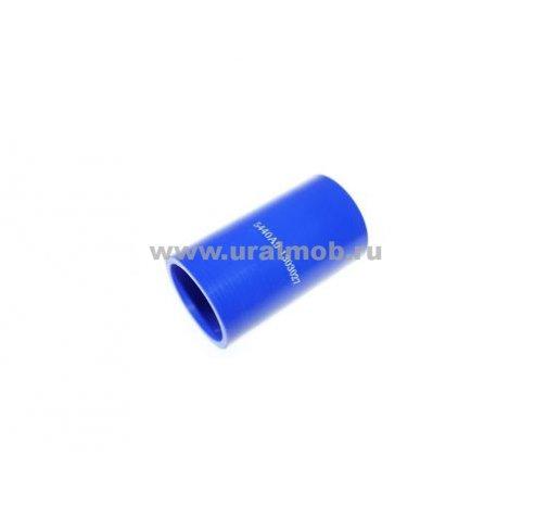 Фото: 5440А9-1303027 Патрубок МАЗ радиатора нижний (L100 d50) (Синий Силикон) _