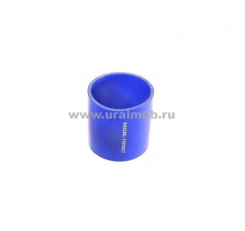 Фото: 5432А5-1303027 Патрубок МАЗ радиатора нижний (L80, d70) (Синий Силикон) _