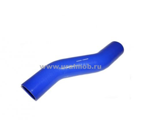 Фото: 543208-1303260 Патрубок МАЗ радиатора нижний (S-образны L457) (Синий Силикон)