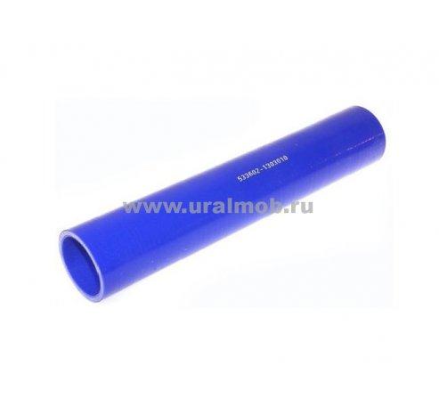 Фото: 533602-1303010 Патрубок МАЗ радиатора верхний (L270, d42) (Синий Силикон)