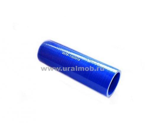 Фото: 4370-1303010 Патрубок МАЗ радиатора верхний (L160, d42) (Синий Силикон)