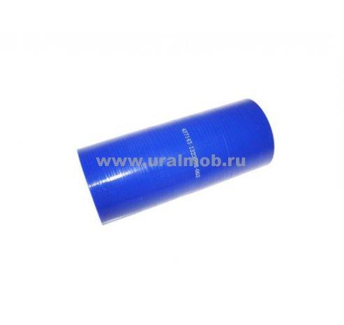 Фото: 437143-1323094-001 Патрубок МАЗ интеркулера (L80, d=70) (Синий Силикон)