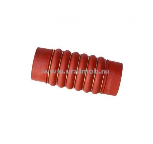Фото: 4320Я5-1109215 Шланг соединительный охладителя (4320Я5-1109220) (красный) (ЕВРО-4) (АЗ УРАЛ)