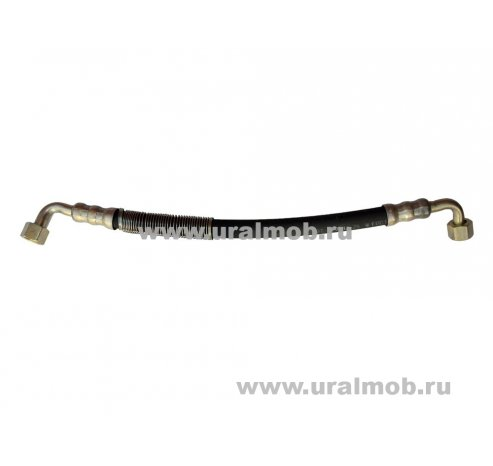 Фото: 4320-3408679 Шланг г/усилителя руля короткий Урал дв. КАМАЗ-740 (470 мм)