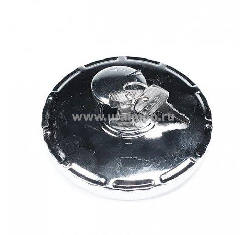 Фото: 53205-1103010-01 Крышка топливного бака п/о с ключом (пластик) УРАЛ, КАМАЗ