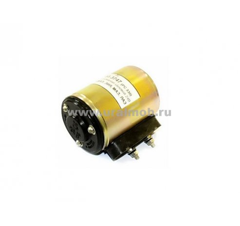 Фото: 151.3747 (РС330) 15.3747-02 Клапан электромагнитный большой круглый УРАЛ, МАЗ, КАМАЗ  5323-3721500