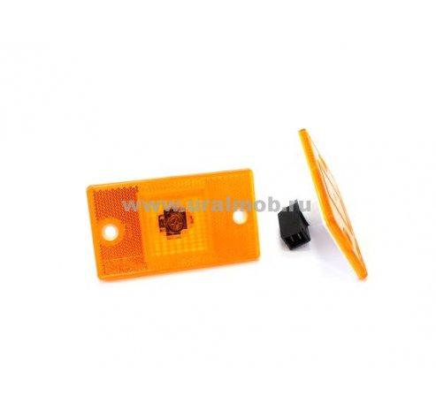 Фото: 4422.3731-03 Фонарь боковой габаритный со светоотражающим устройством, с бесцок. лампой (24В)