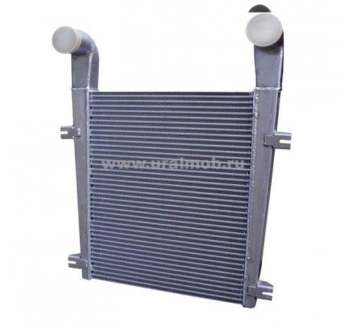 Фото: Охладитель надувочного воздуха (интеркулер) МАЗ с дв. ЯМЗ 238ДЕ2; 236НЕ2