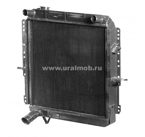 Фото: 500-1301010 Радиатор охлаждения МАЗ 500 3-х ряд (ШААЗ)