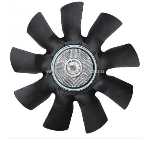 Фото: 536-1308010-СМ Вентилятор с вязкостной муфтой ЯМЗ-536 (крылчатка 650 мм) (СМ)