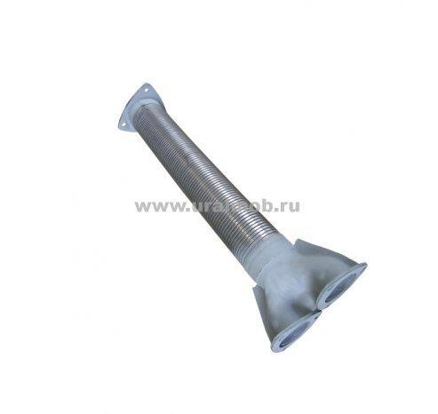 Фото: 500А-1203126-02 Металлорукав МАЗ с тройником (сталь)