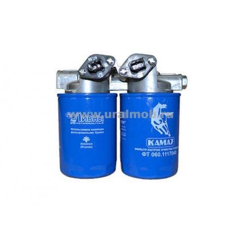 Фото: ФТ060-1117010 Фильтр тонкой очистки топлива КАМАЗ Евро-4, 5 (ЛААЗ)