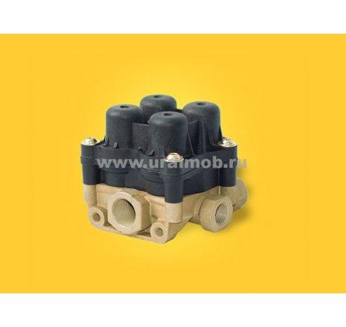 Фото: 14-3515410-10 Клапан защитный 4-х контурный (ПААЗ) ан. AE 4603 (квадратный 4-х горбый)