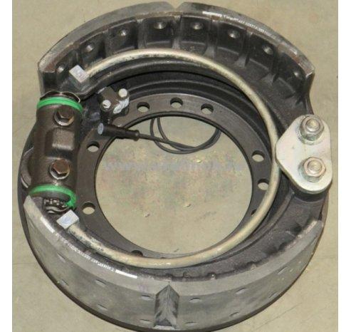 Фото: Тормоз в сборе левого колеса (пневмотормоза, с АБС) (АЗ УРАЛ)