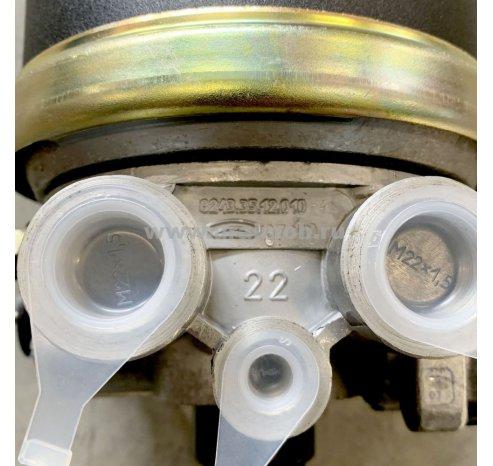 Фото: 8243-3512010-41 Осушитель воздуха с РДВ (БелОМО) (гл. шума) 8243.35.12.010-41 Давл. выкл. 10 атм.