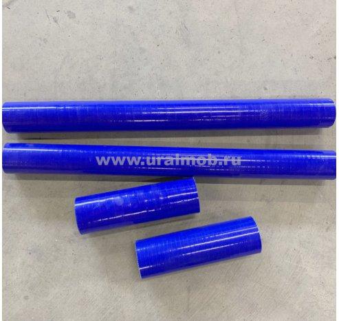 Фото: 4320Я4-1303057/4320ЯХ-1303031-С К-т патрубков радиатора УРАЛ дв. ЯМЗ-236НЕ2-3 Евро-3 (из 4-х штук) (Синий Силикон)