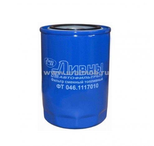 Фото: 046-1117010 (536-1117075) Эл. фильт. тонкой очистки топлива на Урал, МАЗ с дв. ЯМЗ-536 (WDK 940/1)  (ЛИВНЫ)