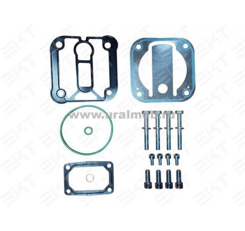Фото: K154288K50 Рем. комплект компрессора ЯМЗ-536  LK 3894,  LК3881 (прокладки, клапана, болты, уплотнения)