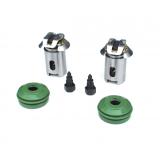 Фото: 012999411VT (Полный) Рем. комплект клинового механизма УРАЛ (Винты + пыльники + поршни + регул. винты + зубч.колесо)